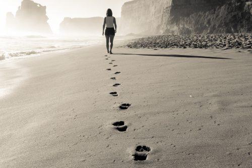 Mit kleinen Schritten zu dir selbst?