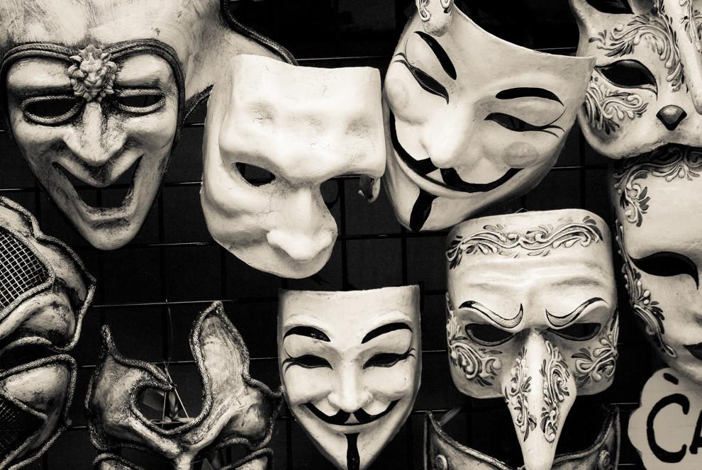 Dein ganzes Leben ein Maskenball?