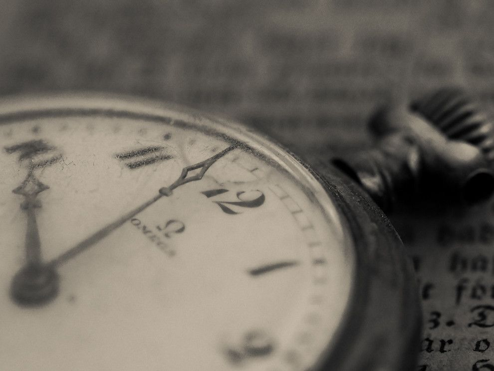 """""""Zeit haben"""" – gibt es nicht?"""